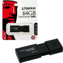 Kingston DataTraveler 100 G3 64GB Pendrive USB 3.0 (DT100G3/64GB) - DT100G3_64GB