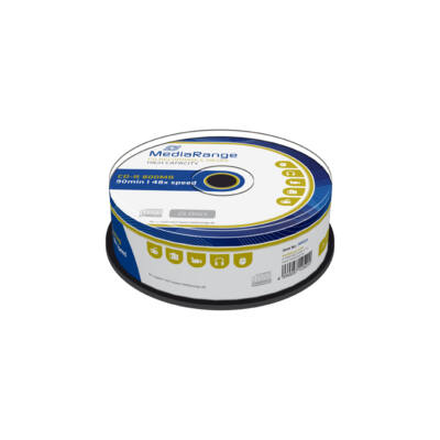 Mediarange CD-R 800Mb Lemez - Cake (25) - MR221