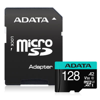Adata Premier Pro 128GB Micro SDXC [100/80MBps] Adapter