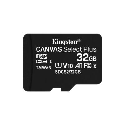 Kingston Canvas Select Plus 32GB microSD memóriakártya