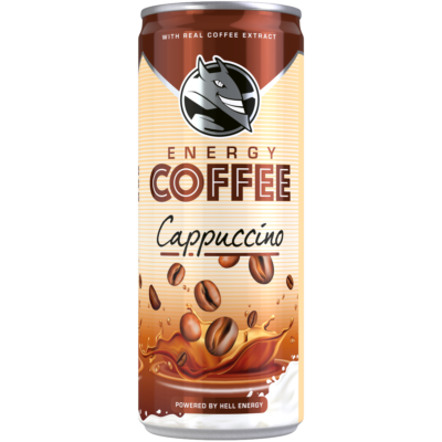 Hell Energy Coffee Cappuccino