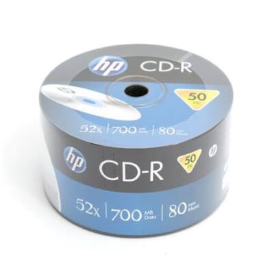 HP CD-R 52X Lemez - Shrink (50) - CRE00070_3